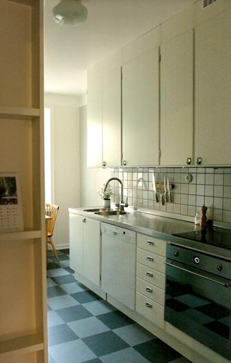 Kök från funkis fram till 60-talet