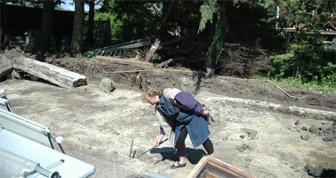 Geoteknisk undersökning av tomt