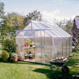 Bygga växthus kanalplast