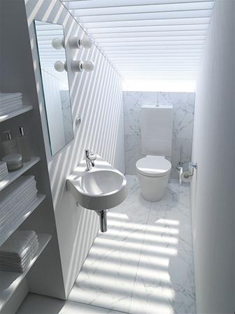 Inredning toaletter plastmatta : Gör lilla badrummet större - Byggahus.se