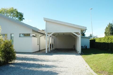 carport med förråd byggsats