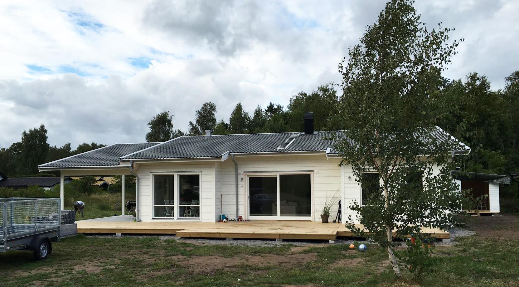 Sommarstugan klar i tid   byggahus.se