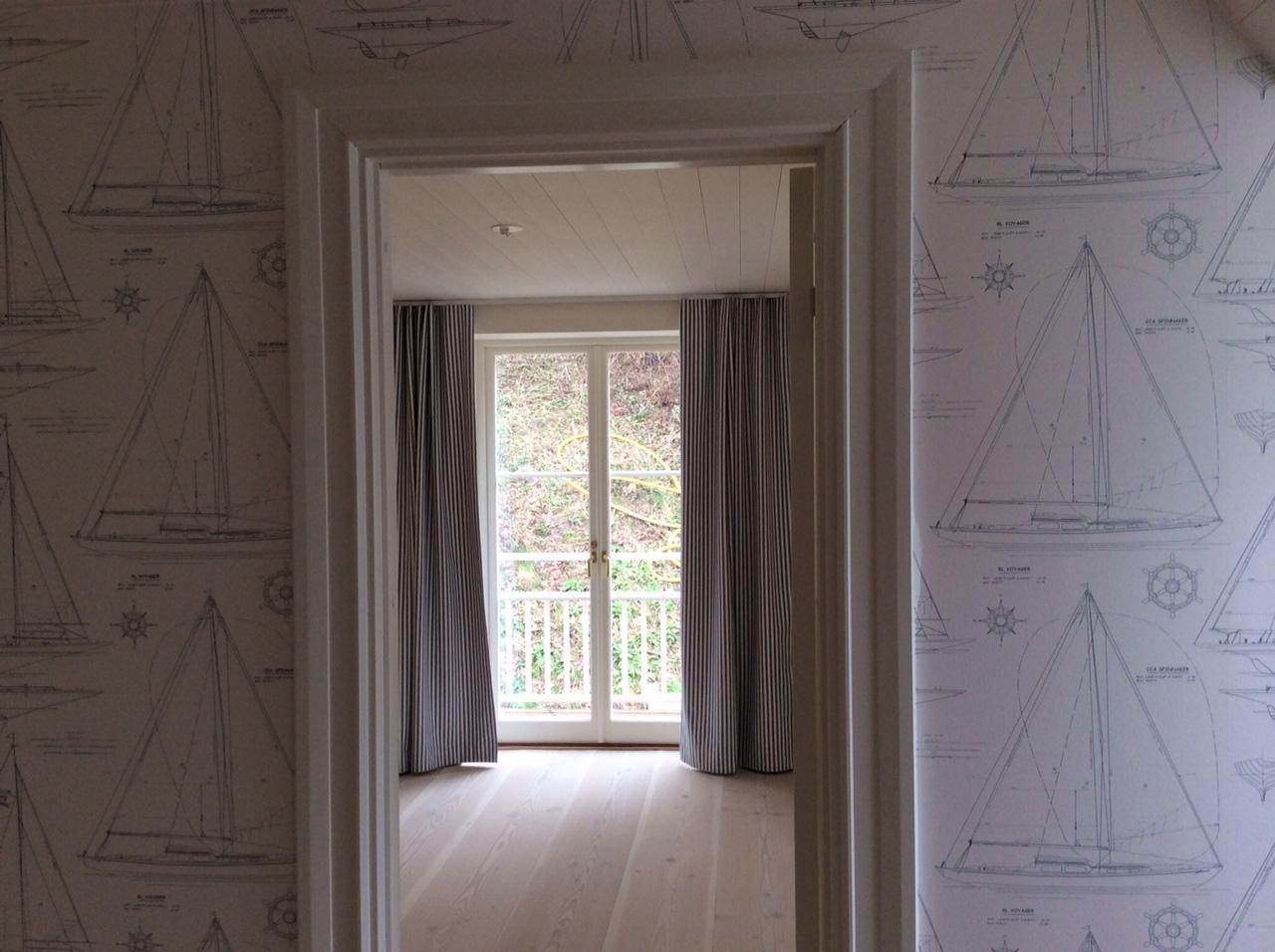 Rullgardiner Till Kok : Longa gardiner som man kan dra for Foto Madelene Svartberg
