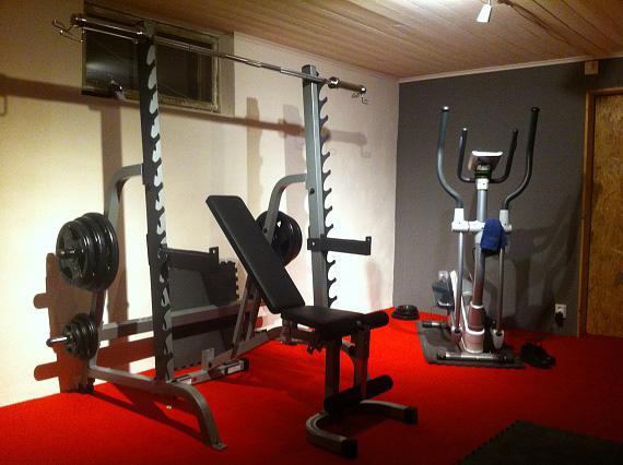 Fantastisk Bygga gym där hemma | Byggahus.se UJ-25