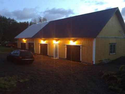 bygga stort garage