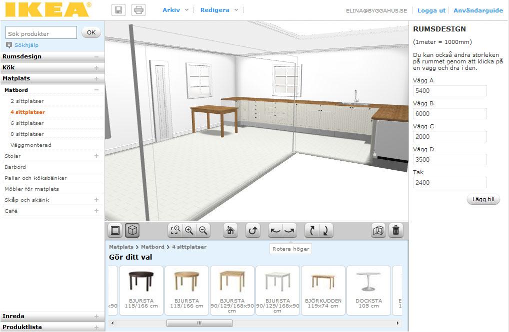 Vi testar rita k k i ikea home planner for Ikea home planner 3d