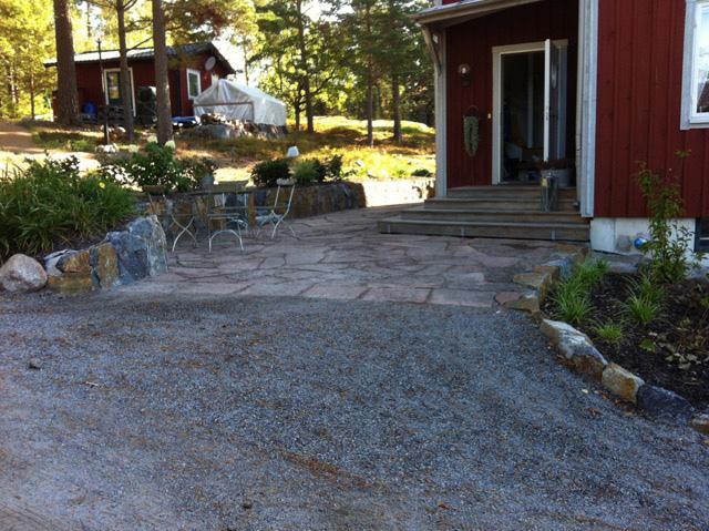 Trädgård Grus : Snygga kanter i trädgården byggahus