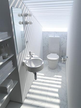 Badrum badrum litet : Litet badrum med max funktioner - Byggahus.se