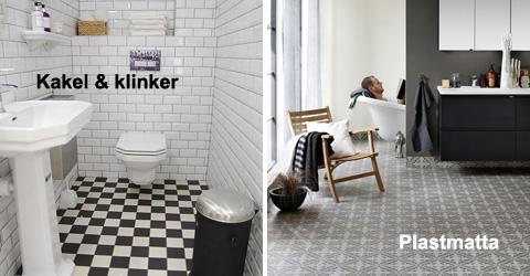 badrum kakel eller våtrumstapet