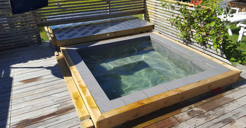 mini pool altan