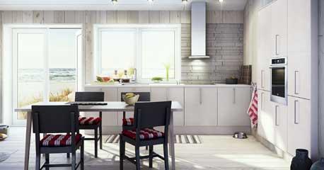 Kök köksö barbord : Rätt avstÃ¥nd i köket - Byggahus.se