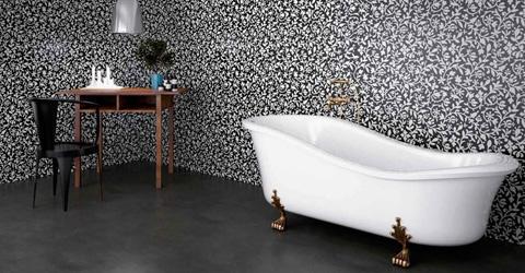 Pris plastmatta eller våtrumstapet badrum - Byggahus.se : toaletter plastmatta : Inredning