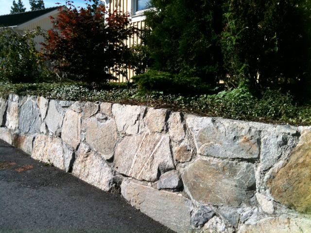 köpa sten till stenmur