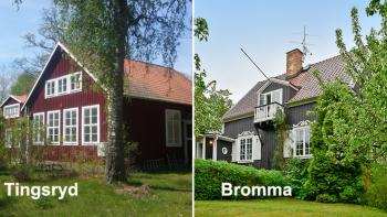 36 hus i Tingsryd eller 1 i Bromma