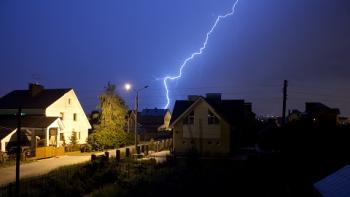 Skydda huset från åska och skyfall