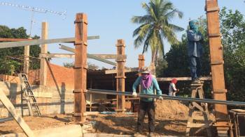 Bygga hus i Thailand