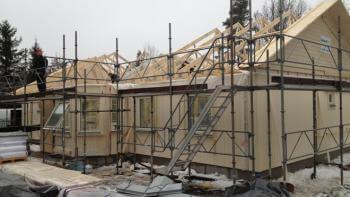 Byggnadskreditiv lån till husbygget - så tänker banken