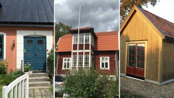 Hur ofta måla om huset?
