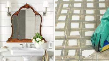 Fräscha till badrummet snabbt och billigt