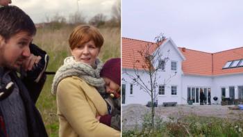 Sofia och Alex ritade specialanpassat hus själva och byggde i lösvirke