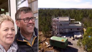 Husdrömmar: Bastu i fokus och tre balkonger på Älgö