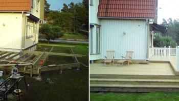 Vad kostar det att bygga altan eller trädäck?