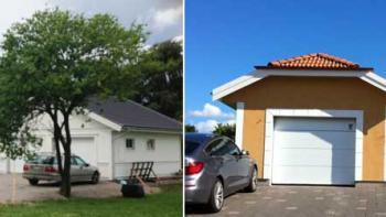 Kostnad bygga garage
