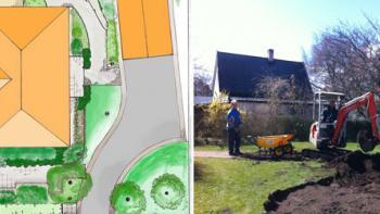Kostnad anlägga trädgård