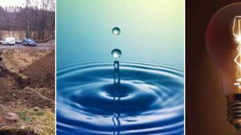 Kostnad dra fram el, vatten & avlopp till tomten