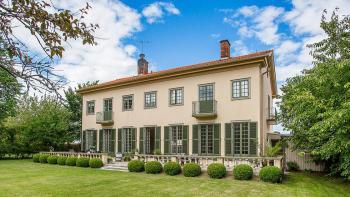 Villa i Kalmar med säregen arkitektur