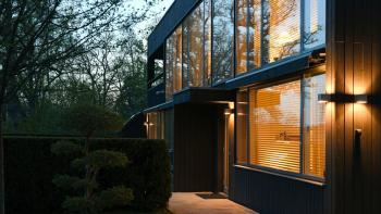 Modernistisk villa av Wingårdh i Saltsjö-Boo