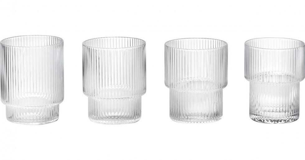 Ripple glas