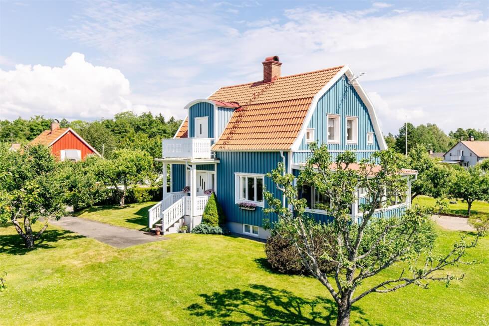 Plankhus i Karlsborg