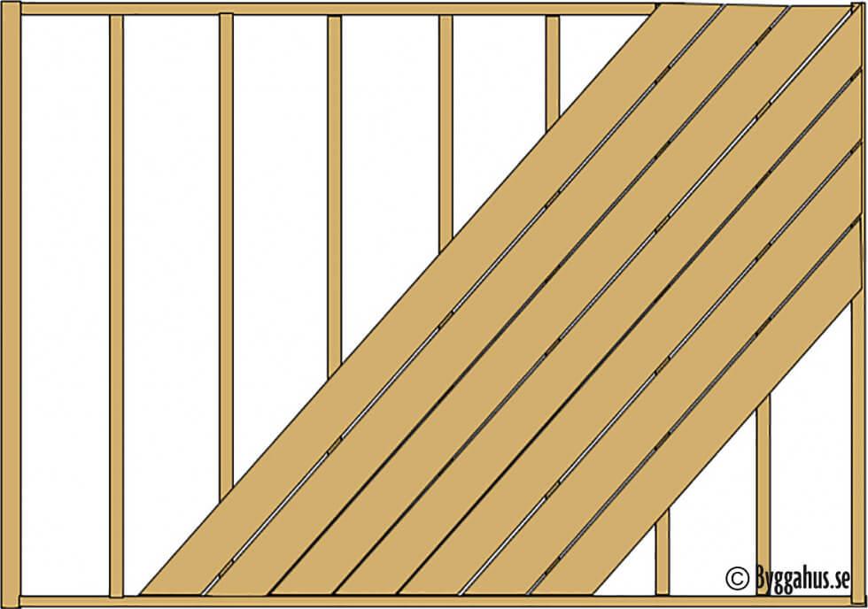 Trall diagonal