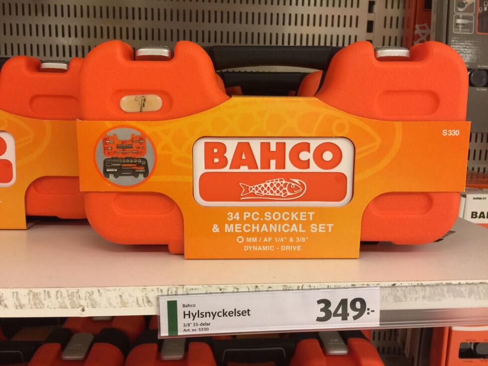 Bacho hylsnyckelset S330
