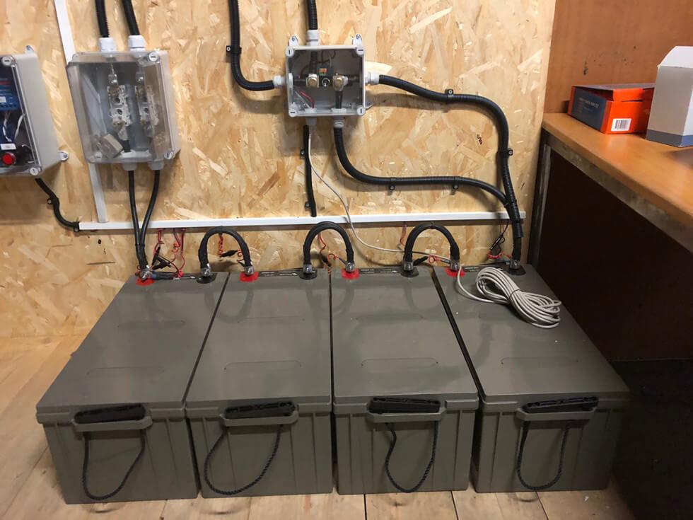 Batterilager