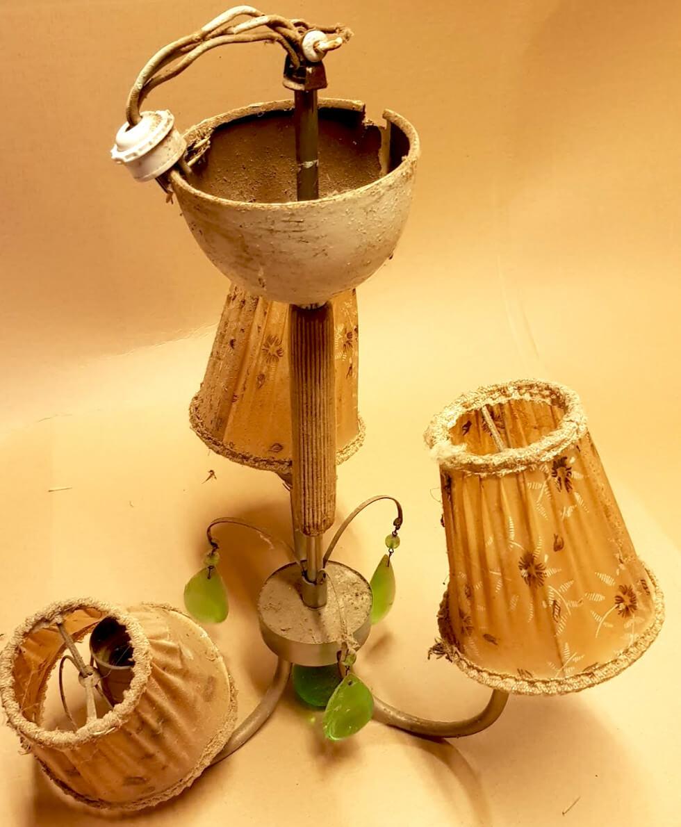 Gammal lampa