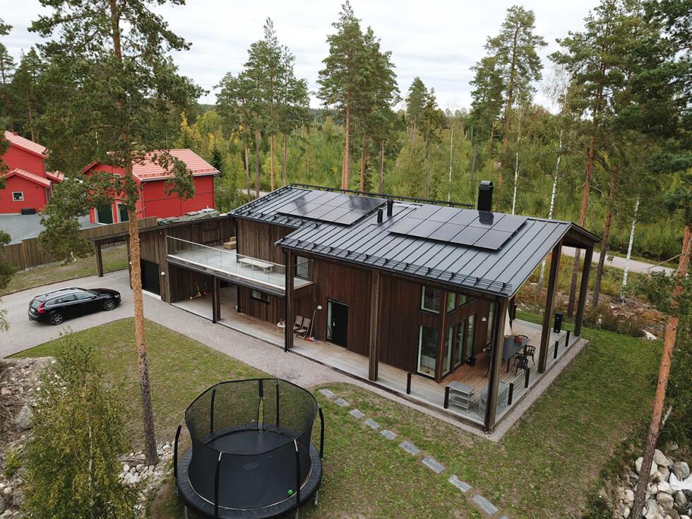 Forskningsvilla i Dalarna