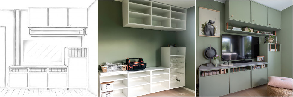 Bygga TV-möbel