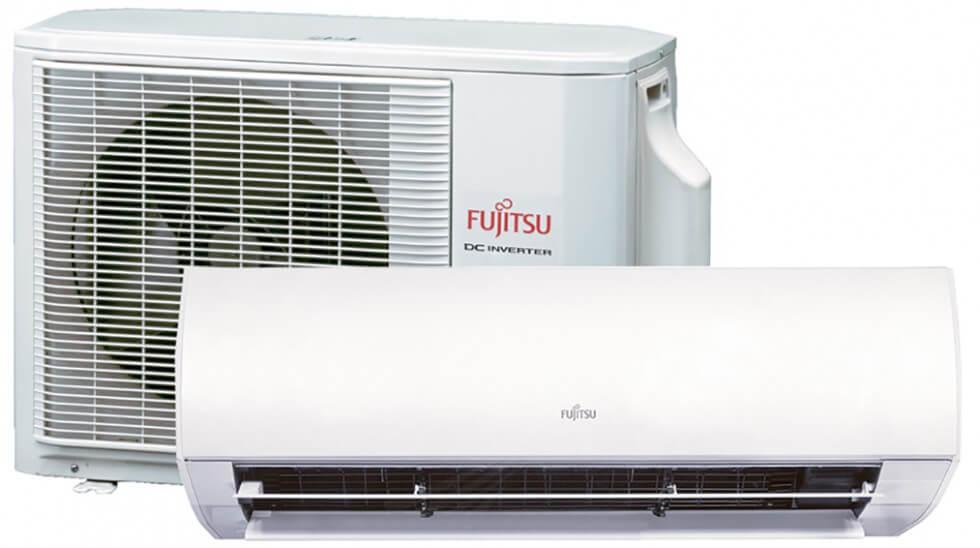 Fujitsu luftvärmepump