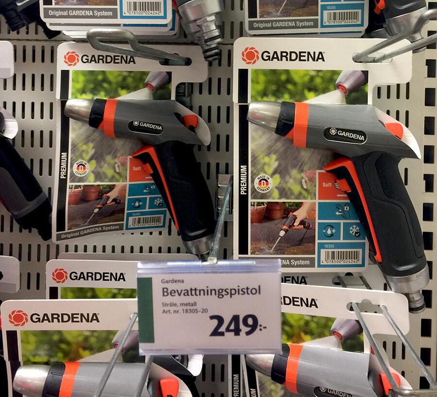 Gardena premium bevattningspistol