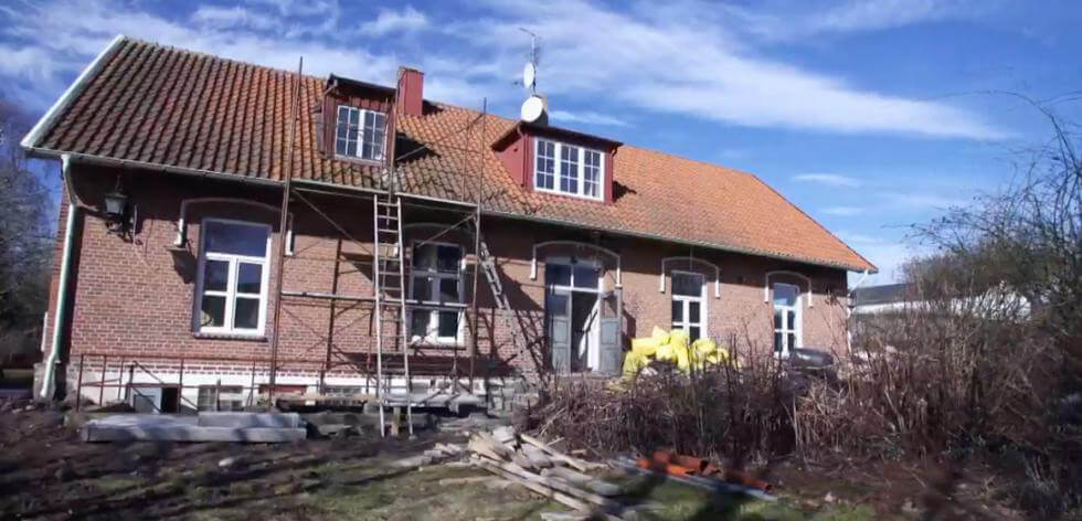 Husdrömmar i gamla skolan i Ramsåsa