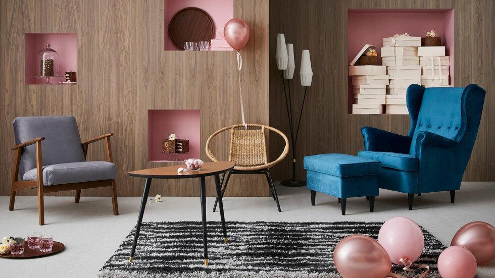 Ikeas 60-talskollektion