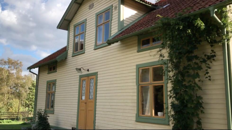 Huset återställt till sekelskifte
