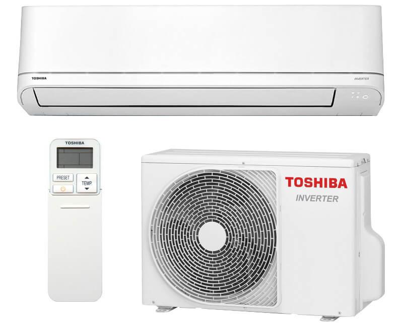 Toshiba luftvärmepump