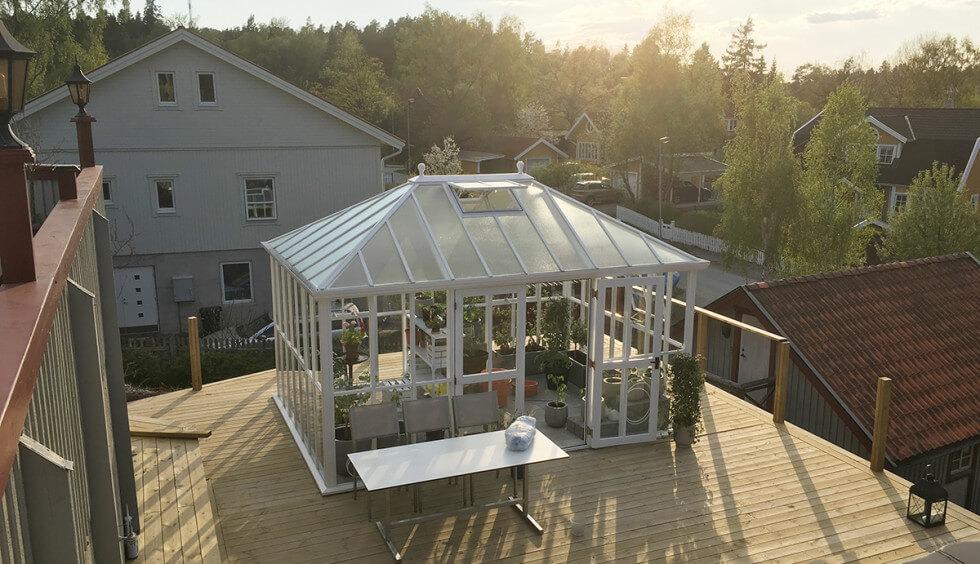 Växthus från Vansta