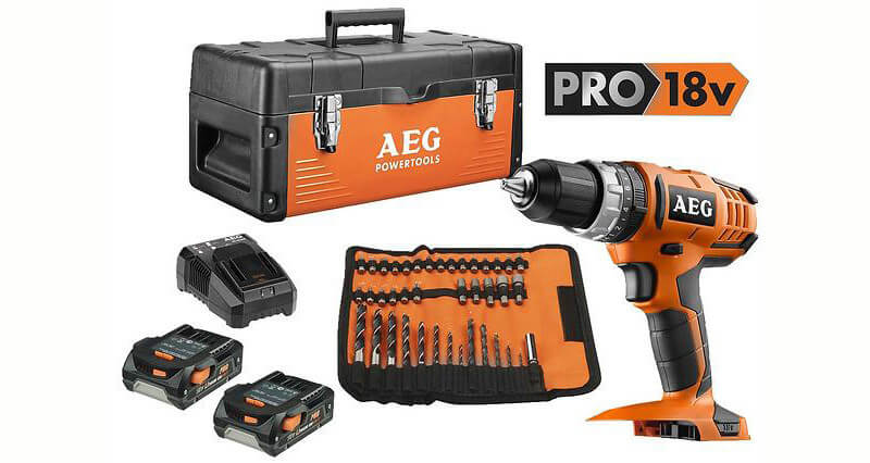 AEG-Powertools BS 18G2 Li (2x1,5Ah)