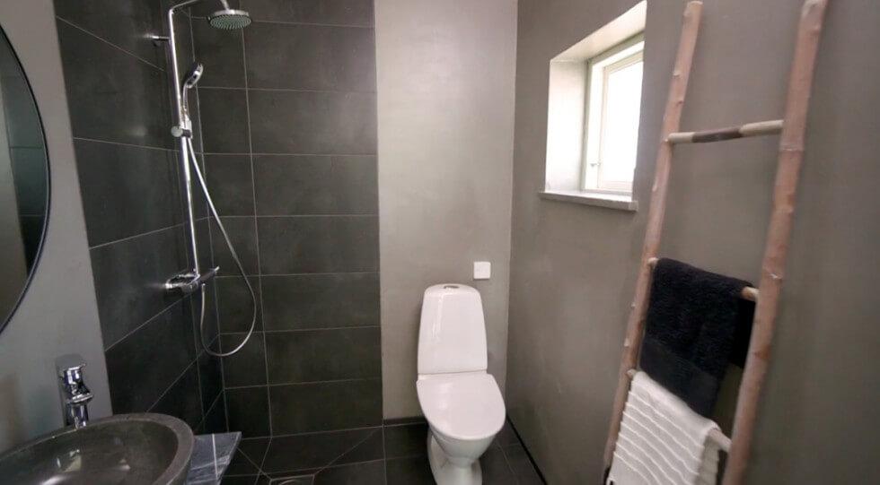 Microcement i badrummet