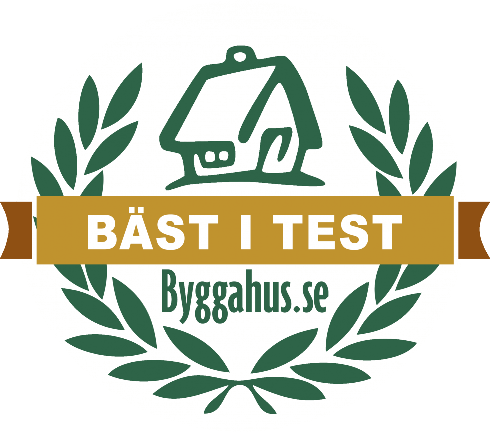 Byggahus bäst-i-test badge