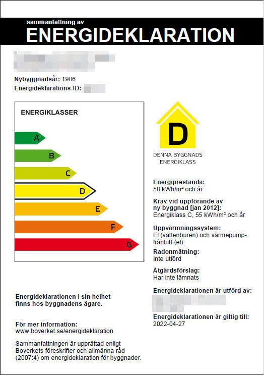 En energideklaration